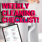 Printable Weekly Cleaning Checklist