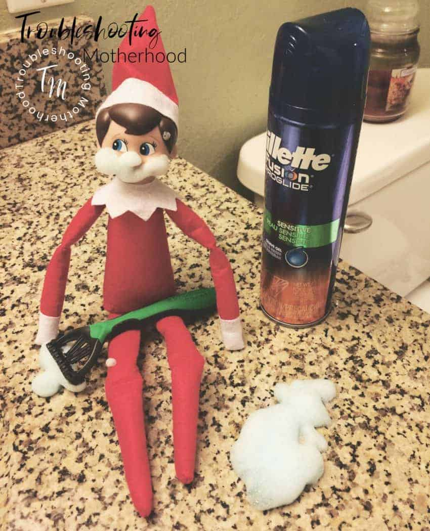 27 fun, simple, quick and easy ideas for your Elf on the Shelf that toddlers and kids will love! Make Christmas a little more Merry and a lot less stressful with these hassle-free moves that are great for last-minute shenanigans. #elfontheshelf #easyelfontheshelfideas #easyelfmoves #freeprintables #Christmas