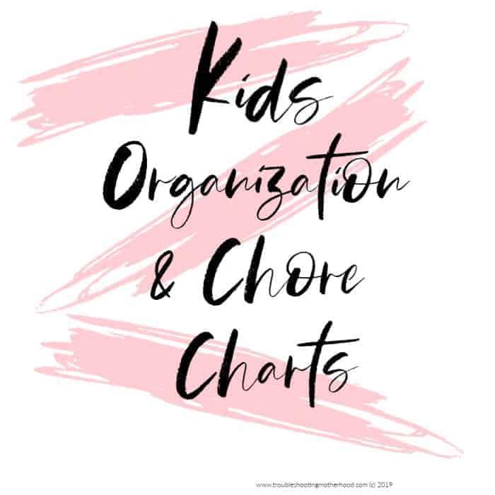 kids chore charts free printables