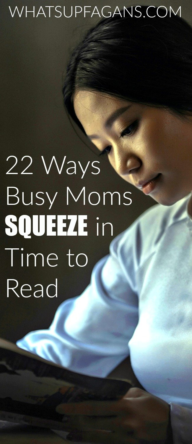 22 Genius Ways Moms Squeeze in Time to Read