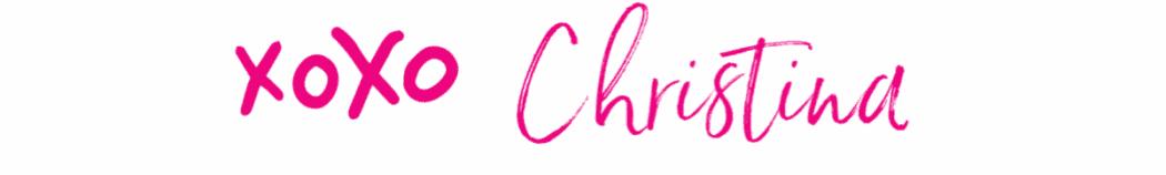 Christina Signature.