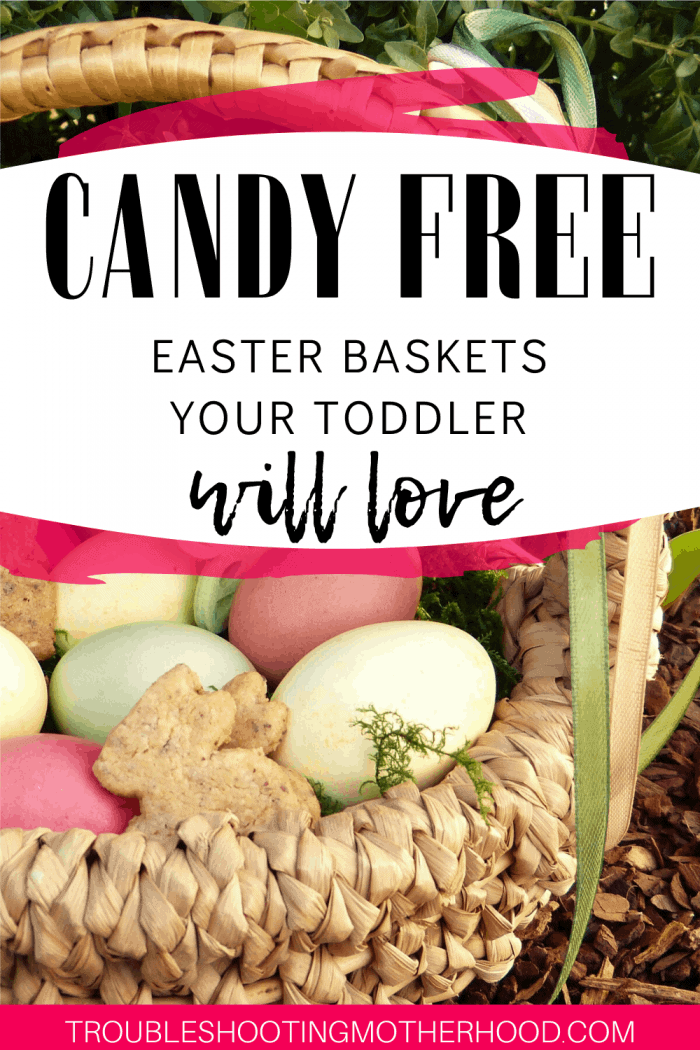 non candy easter basket ideas for toddlers.