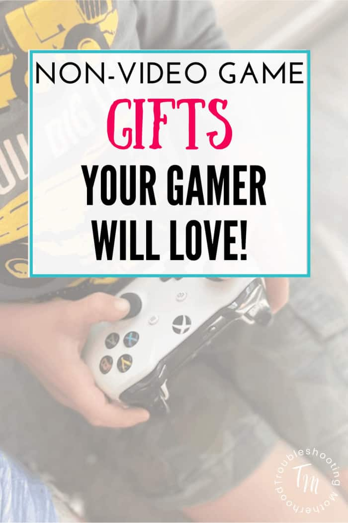 No Screen gift guide for boys who love video games.