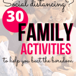 30 Family bonding activities