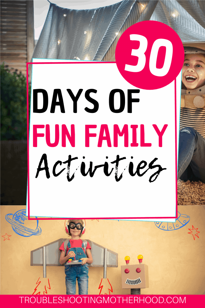 fun family activities