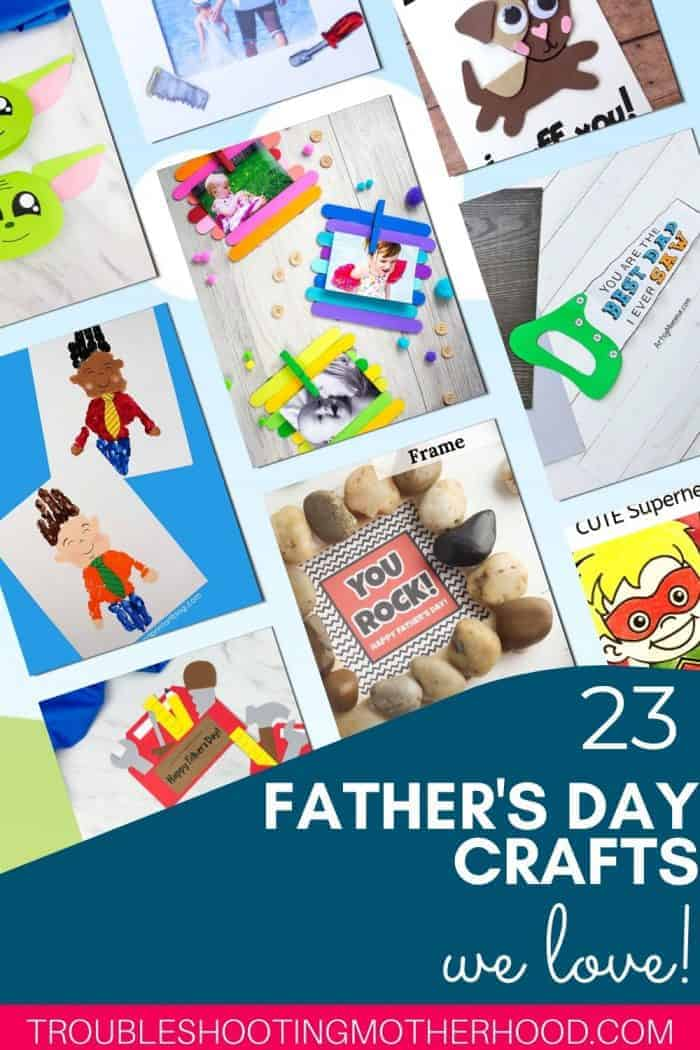 Father's Day Crafts for Kids.