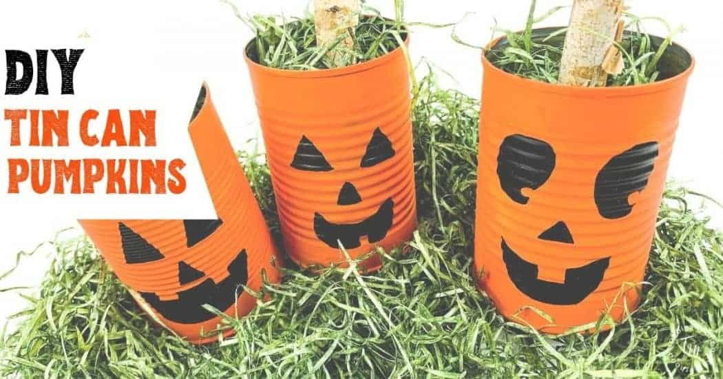 Halloween Tin Can Craft for Kids Blog Image