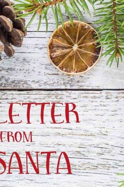 Letter from Santa Featured Image
