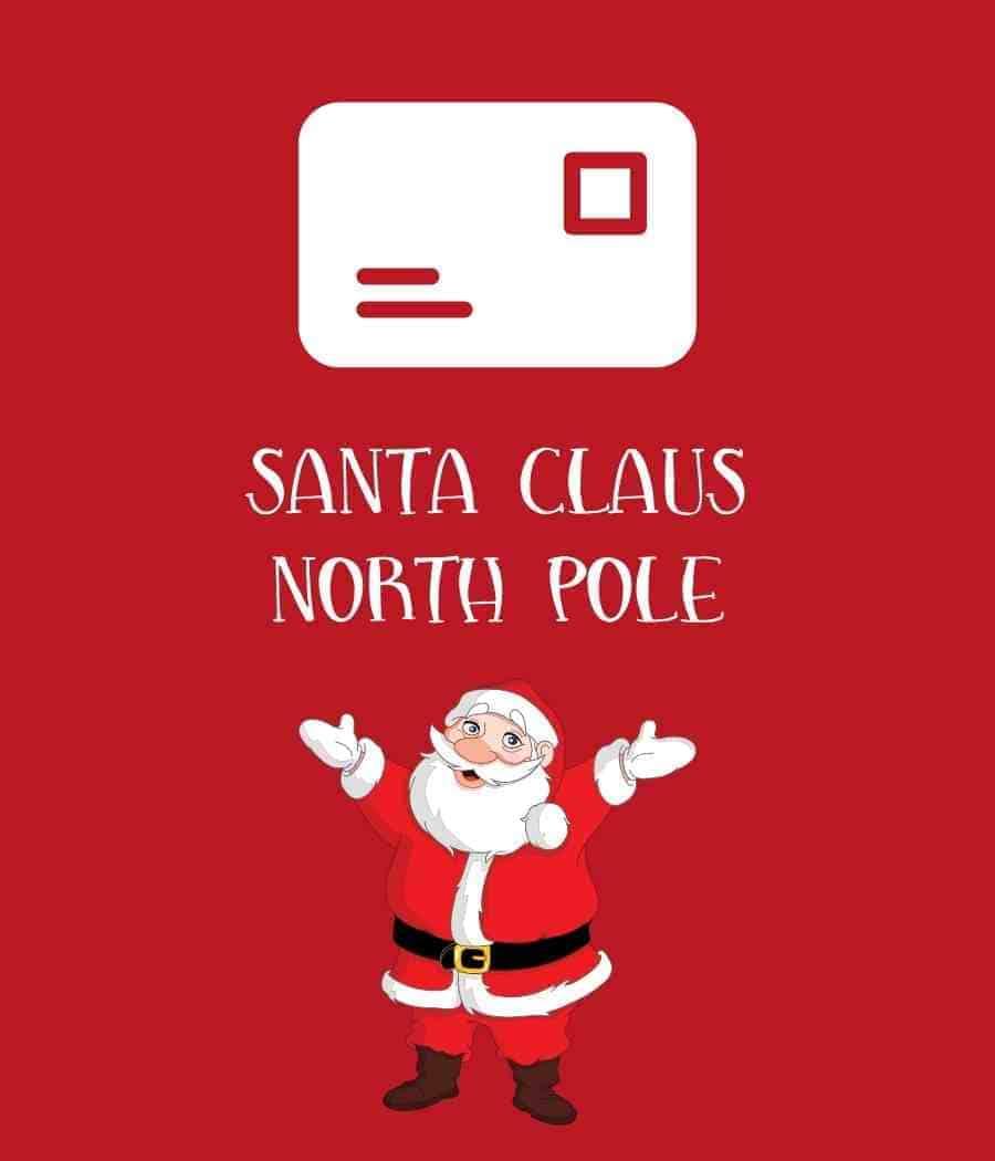 Santa Claus address: Santa Claus North Pole