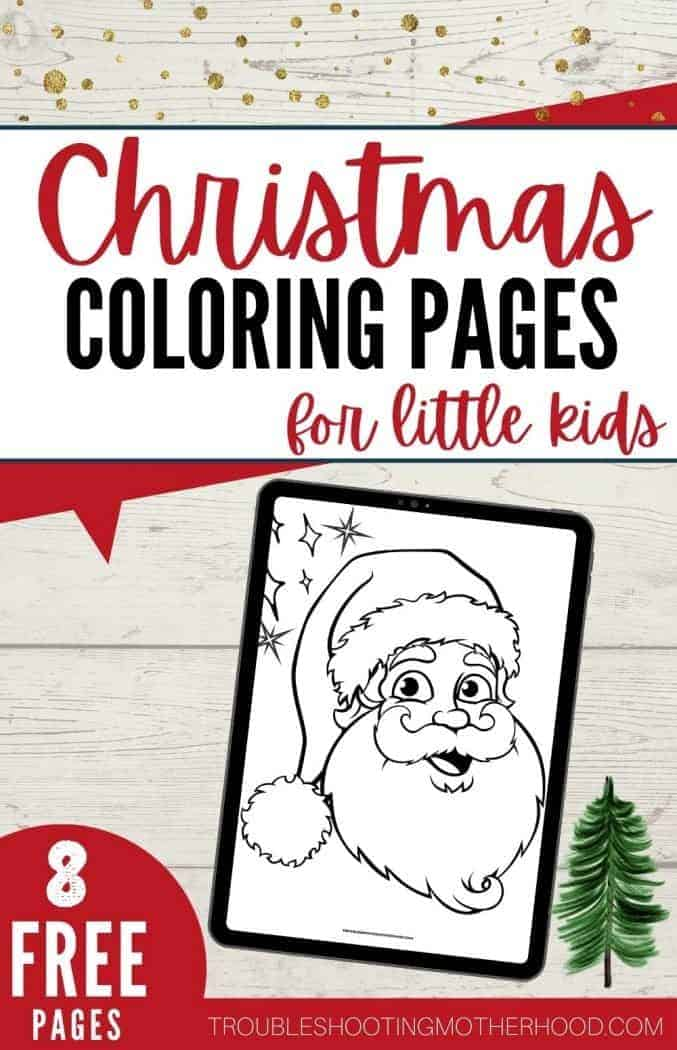 Free printable coloring pages for Kids PIN Image